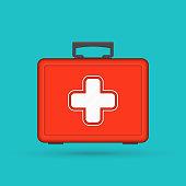 First aid kit box.