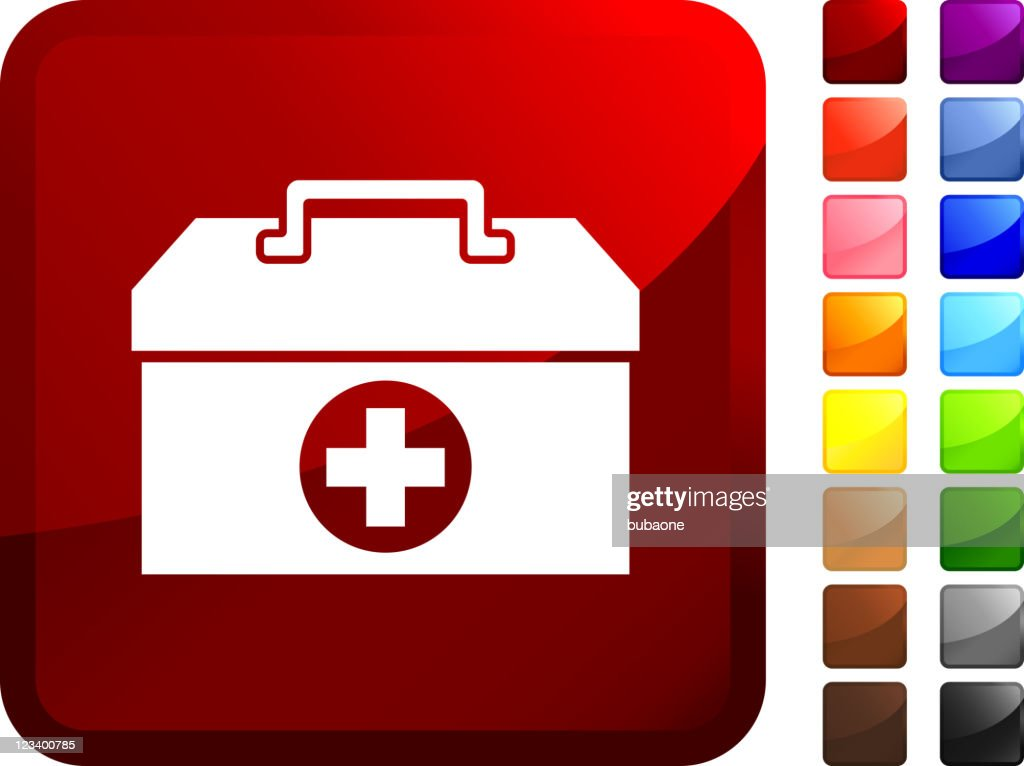 first aid kit internet royalty free vector art