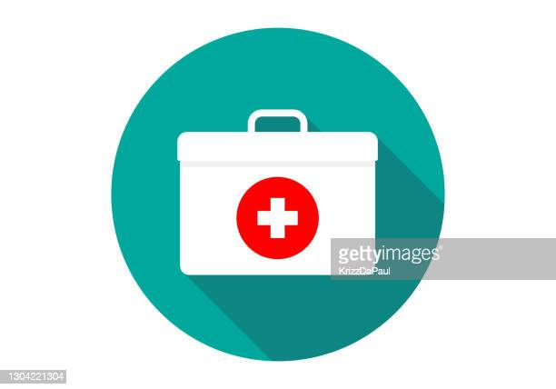 first aid kit - first occurrence stock illustrations