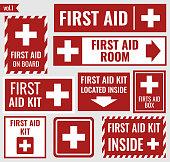 First aid set
