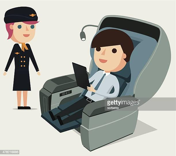 First Class Passenger - Illustration