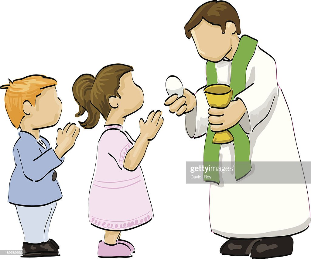 First communion illustration