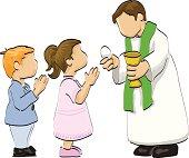 First communion illustration