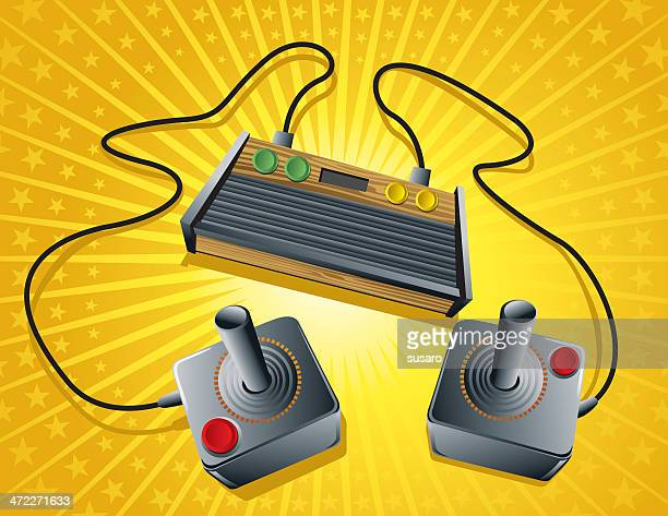 First generation of gaming retro console