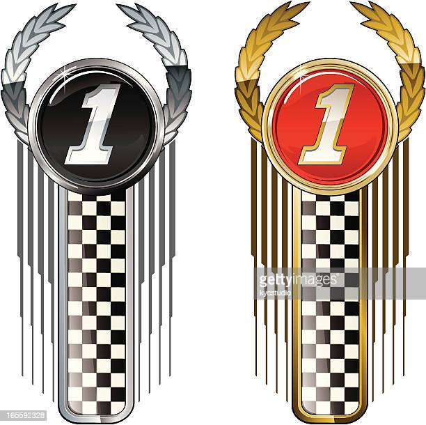 first labels - rally car racing stock illustrations, clip art, cartoons, & icons