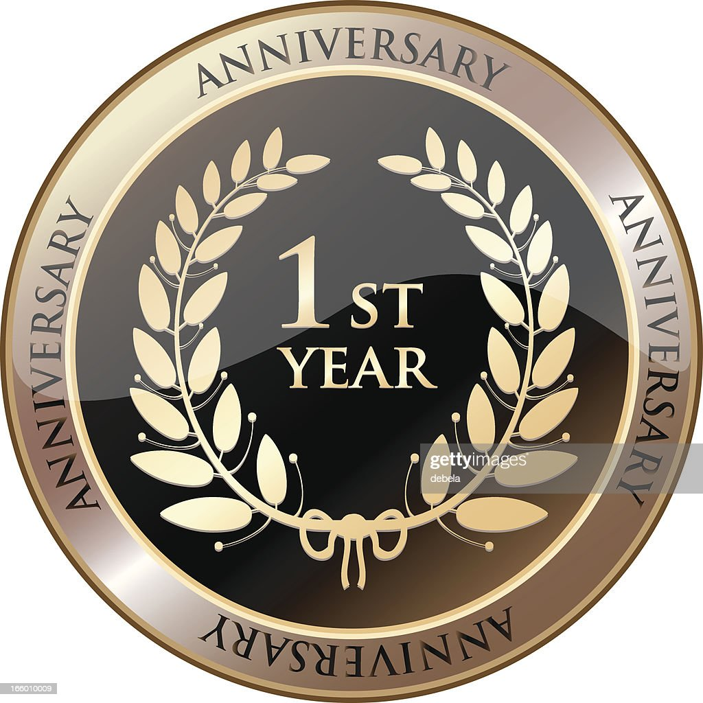 First Year Anniversary Celebration Shield