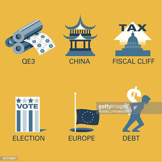 fiscal problems - pagoda stock illustrations, clip art, cartoons, & icons