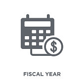 Fiscal year icon from Fiscal year collection.