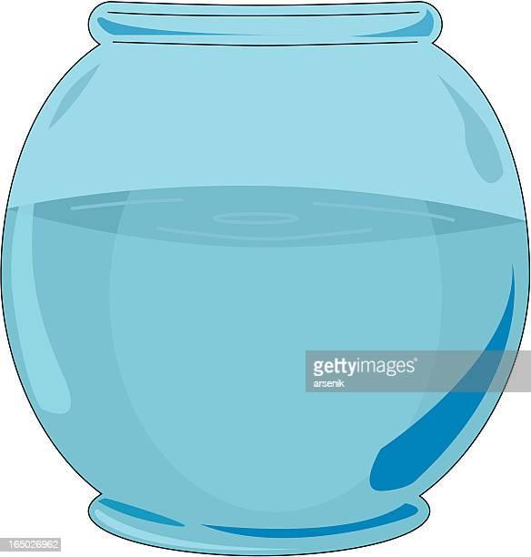 fish bowl - fishbowl stock illustrations, clip art, cartoons, & icons