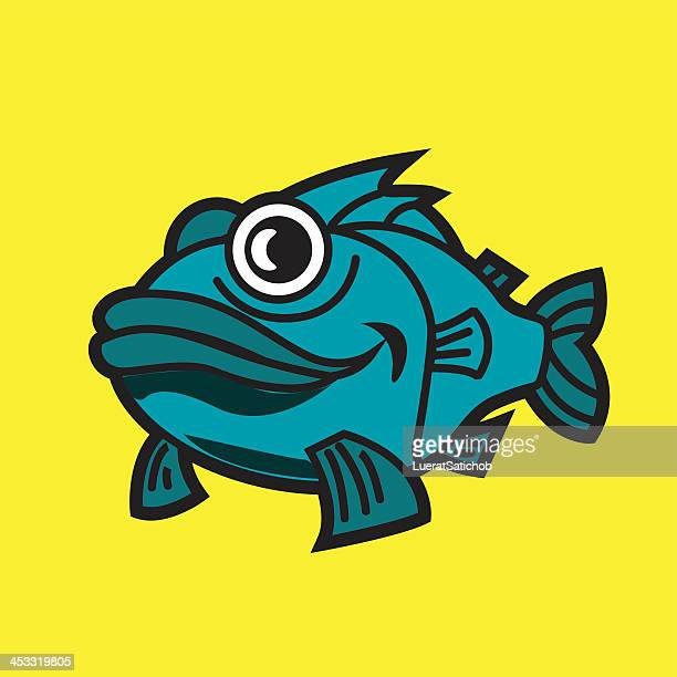 Fish Cartoon - Illustation