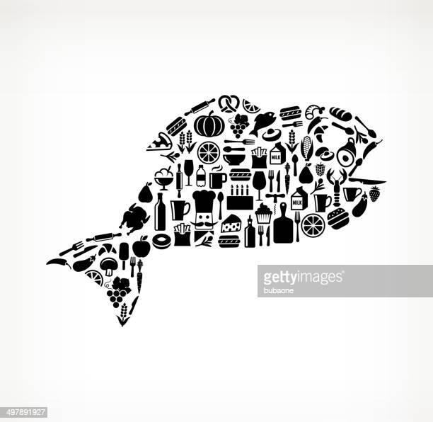 Fish Food & Drink royalty free vector arts