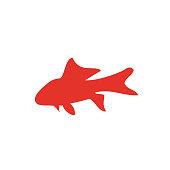 fish gold icon