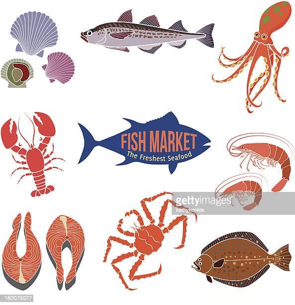 fish market design elements