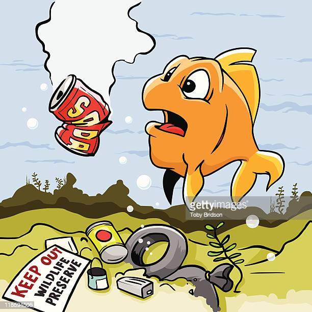 Water Pollution Stock Illustrations And Cartoons