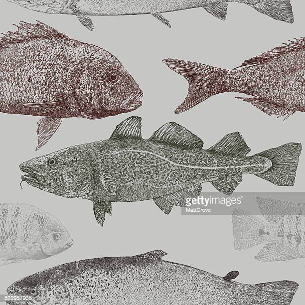 Fish Repeat Pattern
