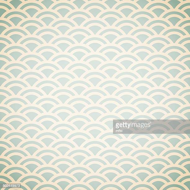 fish scale pattern background - animal scale stock illustrations, clip art, cartoons, & icons