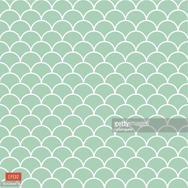 fish scale pattern - scales stock illustrations