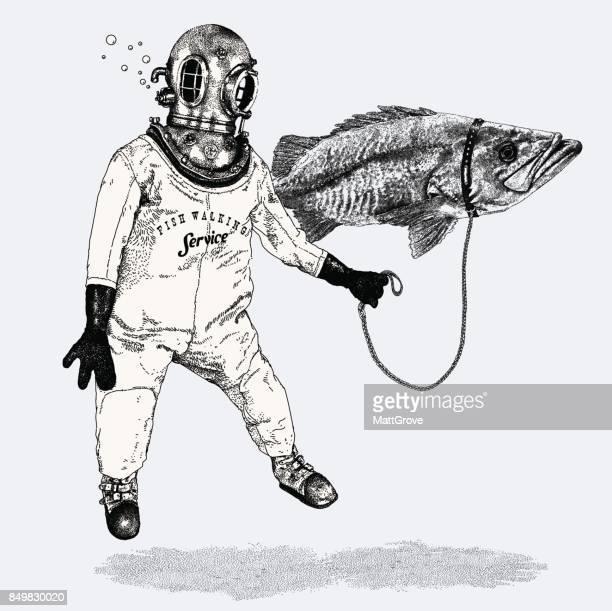 Fische wandern Service