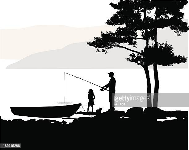 127 Fishing Girls High Res Illustrations Getty Images