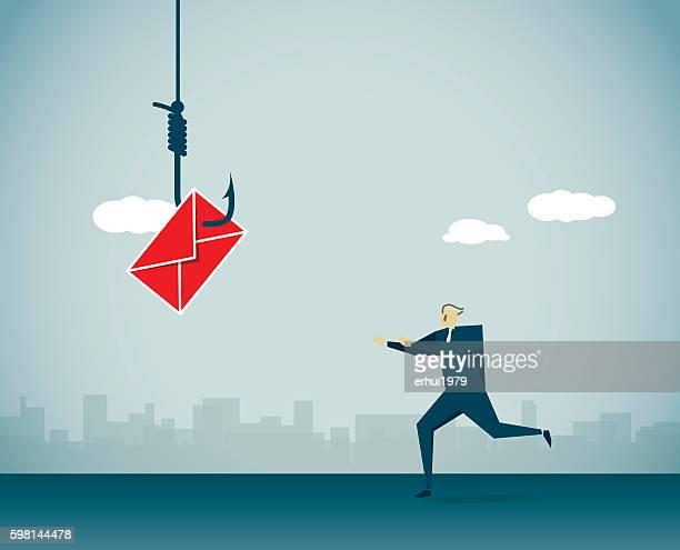 fishing - phishing stock illustrations