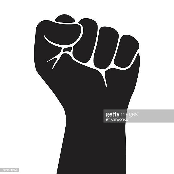 fist icon - fist stock illustrations