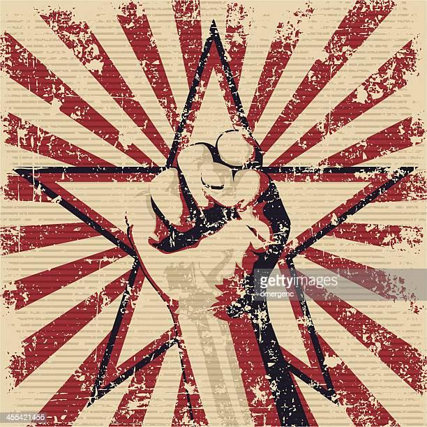 ilustraciones, imágenes clip art, dibujos animados e iconos de stock de puño - socialismo