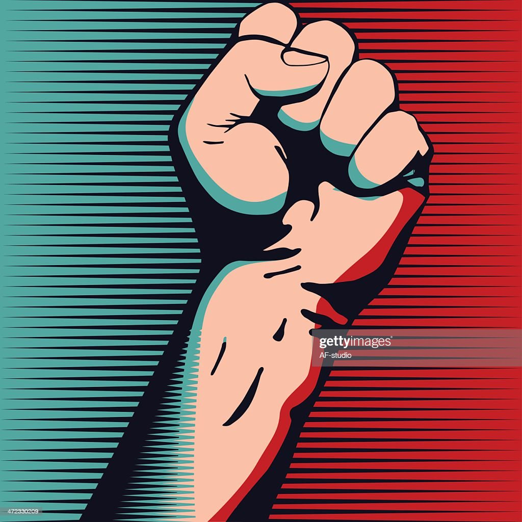 Fist : stock illustration