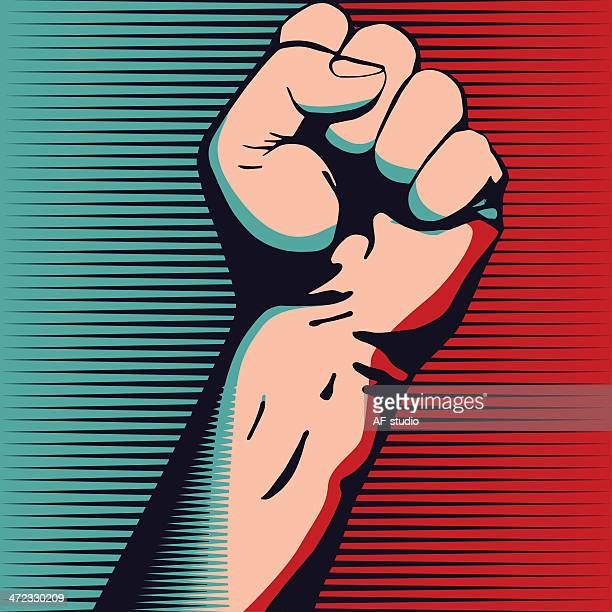 fist - fist stock illustrations