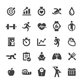 Fitness and Exercise Icons - Smart Series