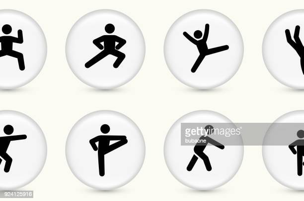 fitness and healthy lifestyle - stick figure stock illustrations