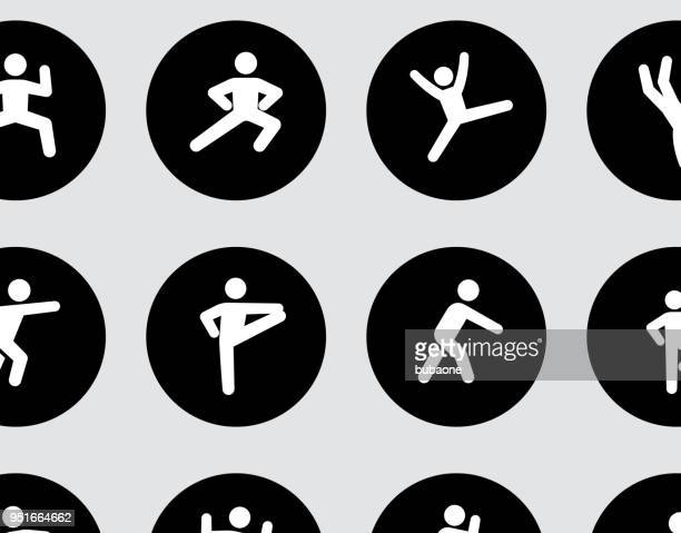 fitness and healthy lifestyle - relaxation exercise stock illustrations