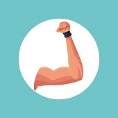 fitness arm strong image