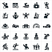 Fitness Facility Icons