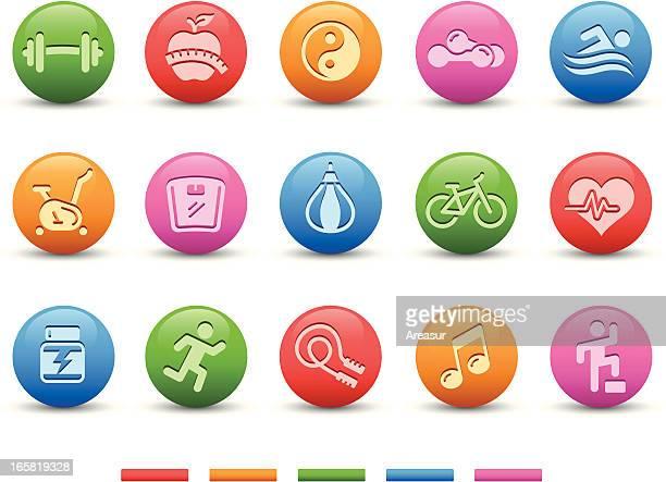 Fitness Icons   Satin Series