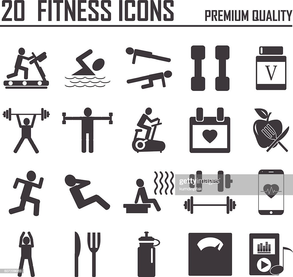 20 Fitness Icons