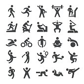 Fitness method Icons - Smart Series