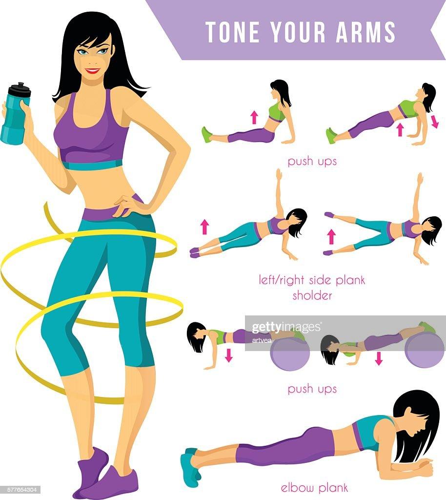 Fitness Workout : stock illustration