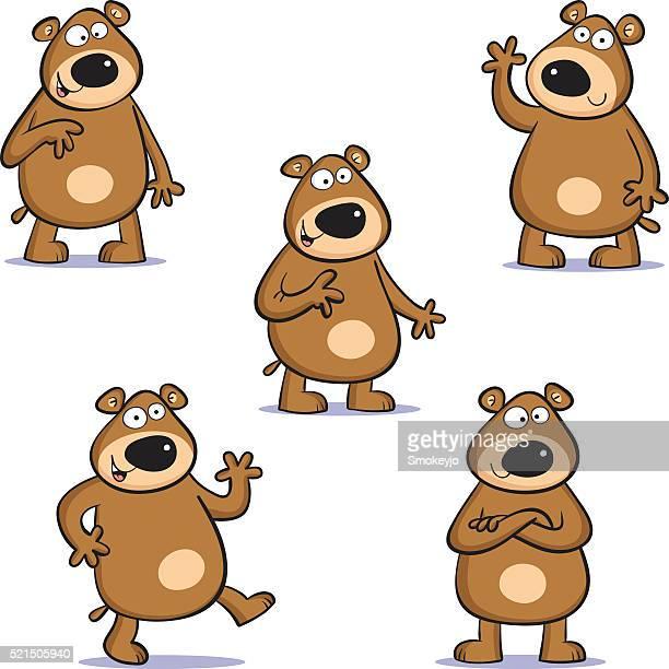Five bears