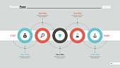 Five Circles Workflow Slide Template