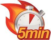Five minutes timer