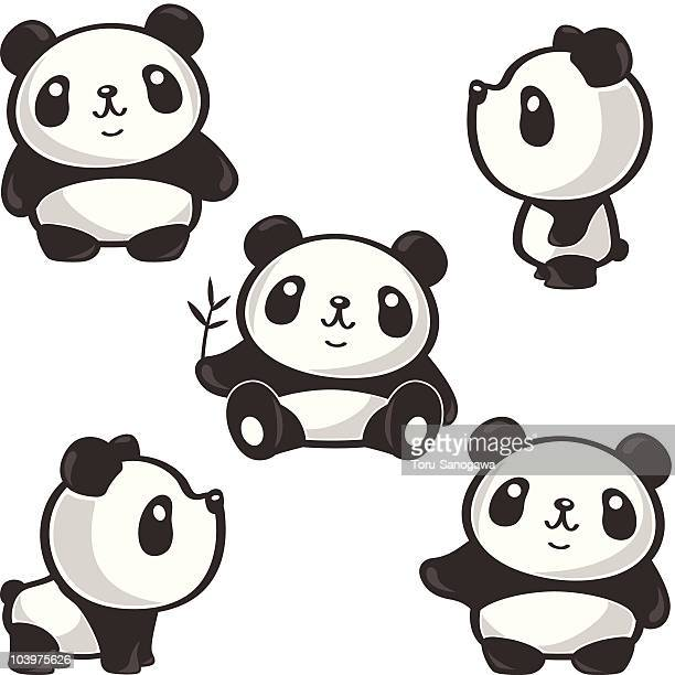 30 Meilleurs Panda Illustrations Cliparts Dessins Animés