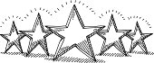 Five Star Rating Drawing