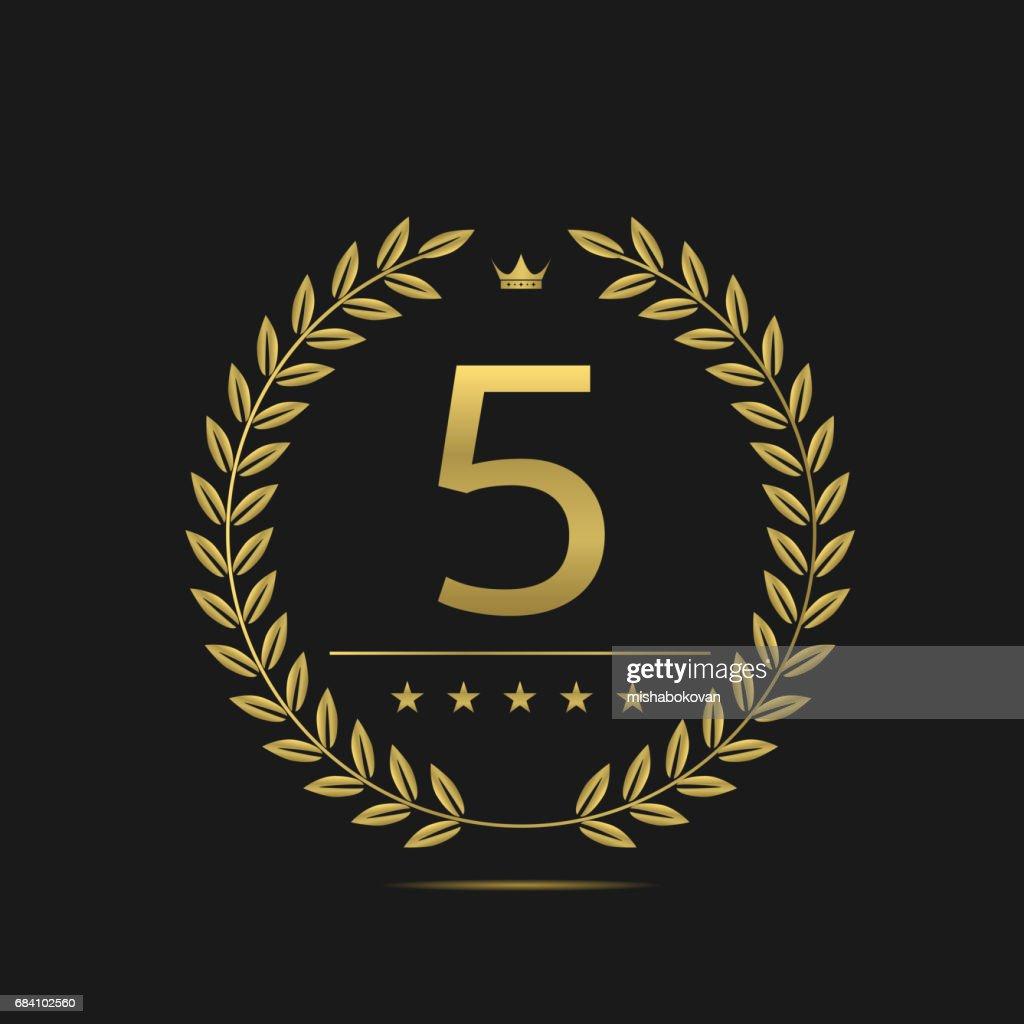 Five stars label