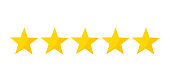 Five stars rating