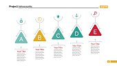 Five Triangles Diagram Slide Template