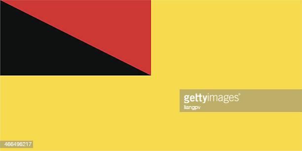 Flagge und Wappen von Negeri Sembilan