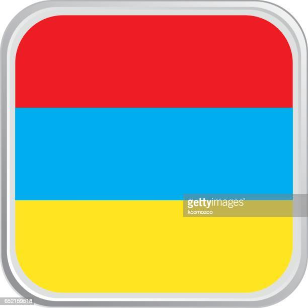 flag armenia - armenian flag stock illustrations