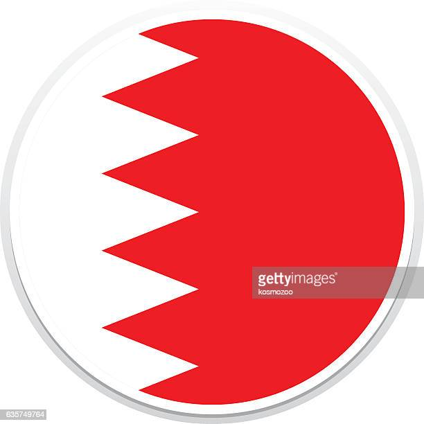 flag bahrain - bahrain stock illustrations, clip art, cartoons, & icons