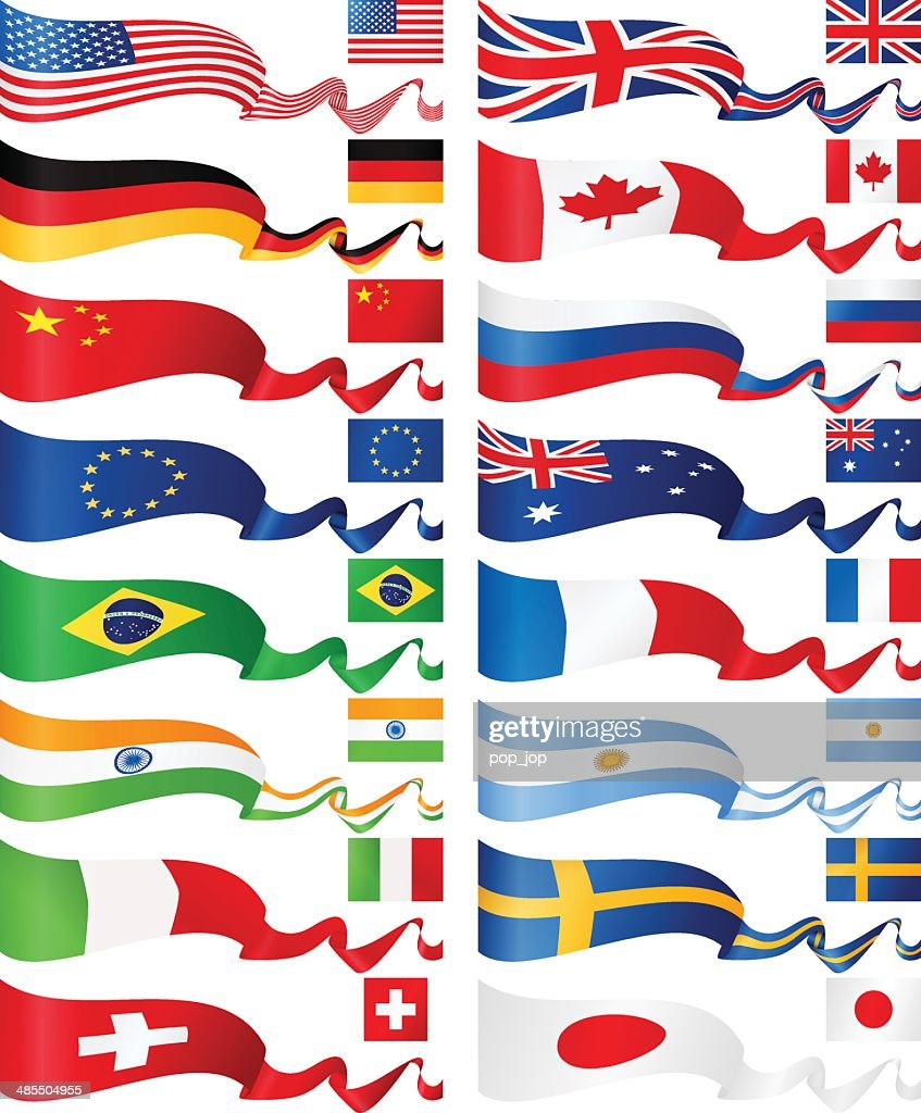 Flag banners - most popular
