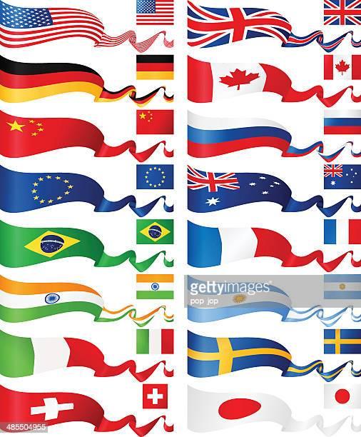Flagge Banner-beliebtesten